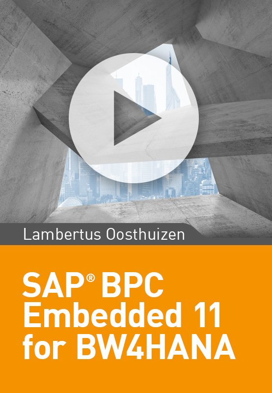 SAP BPC Embedded 11 for BW/4HANA