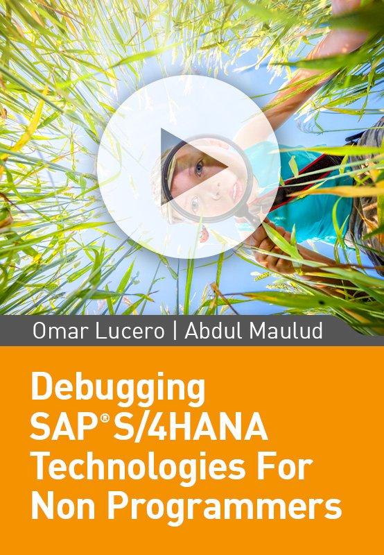 Debugging SAP S/4 HANA Technologies For Non Programmers