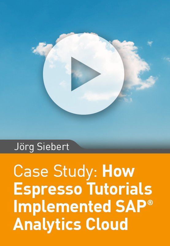 How Espresso Tutorials Implemented SAP Analytics Cloud