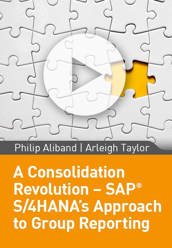 A Consolidation Revolution – SAP S/4HANA's Approach to Group Reporting