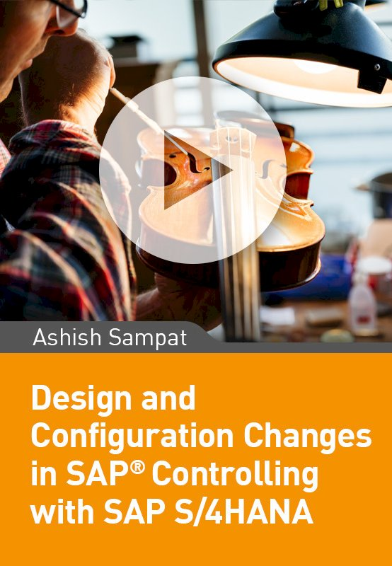 Important Design and Configuration changes in Controlling with SAP S/4HANA