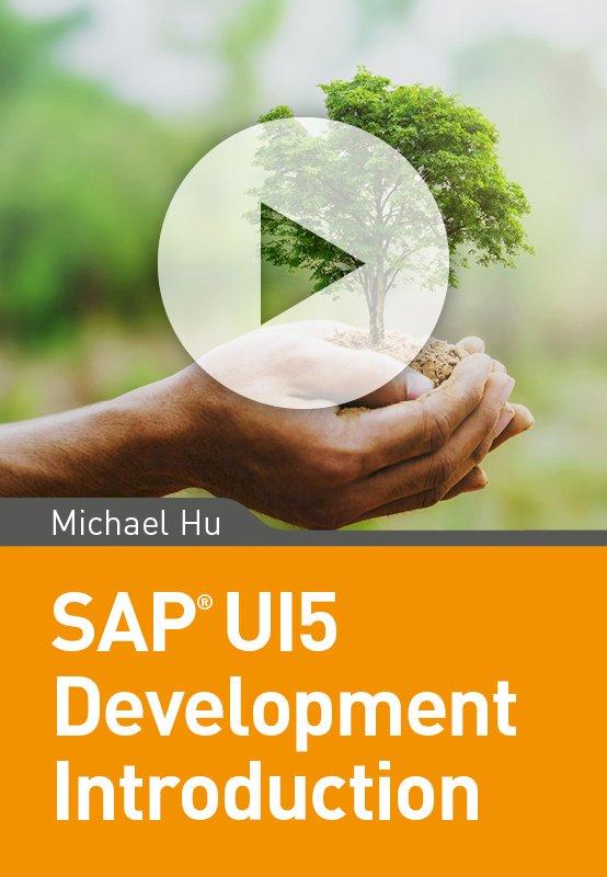 SAP UI5 Development Introduction