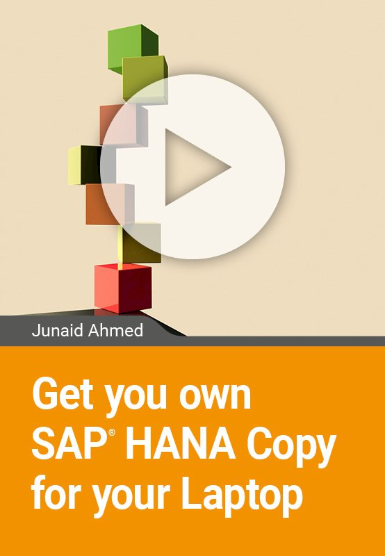Get your own SAP HANA Copy for your Laptop