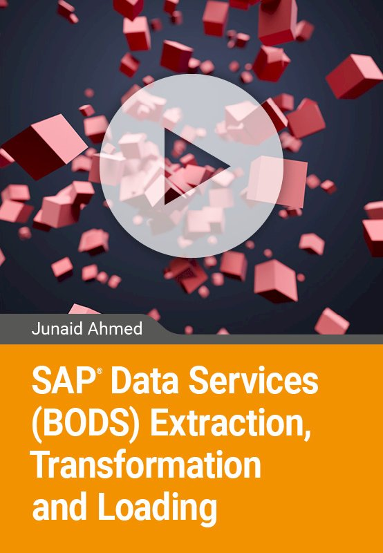 SAP Data Services (BODS) Extraction, Transformation and Loading