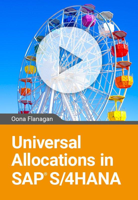 Universal Allocations in SAP S/4HANA