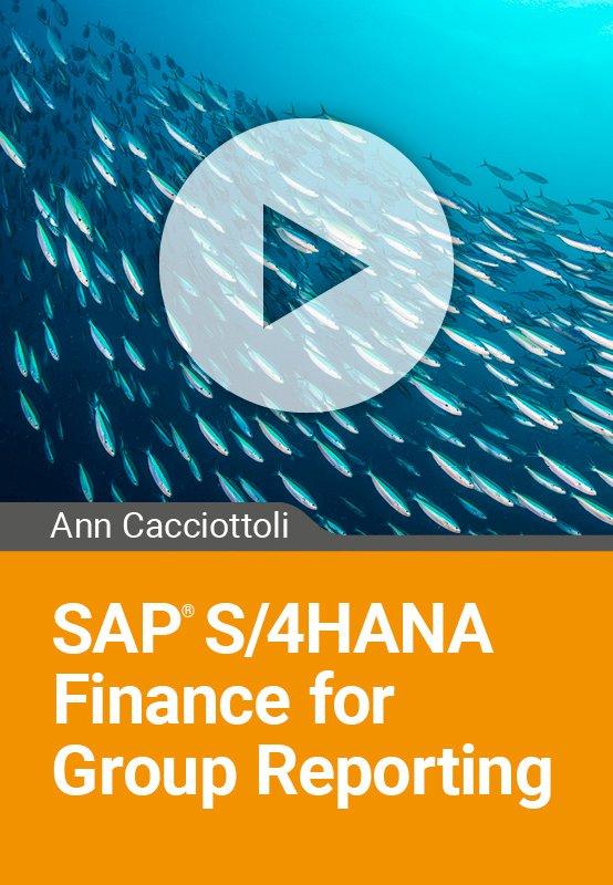 SAP S/4HANA Finance for Group Reporting