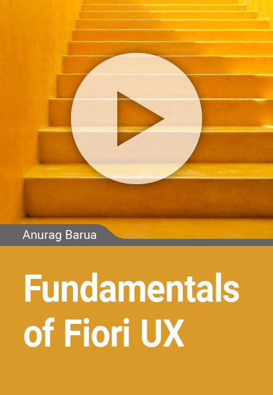 Fundamentals of Fiori UX