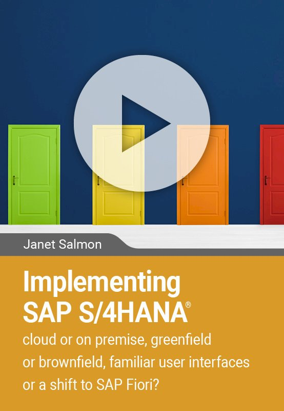 Implementing SAP S/4HANA – cloud or on premise, greenfield or brownfield, SAP Gui or Fiori?